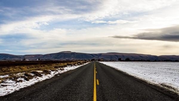 asphalt daytime desert distance empty highway
