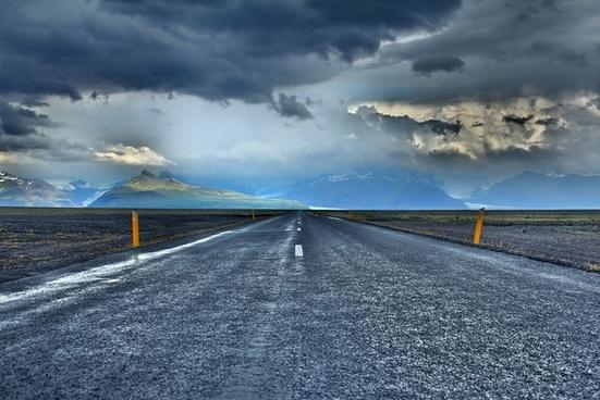asphalt daytime desert empty fast highway infinity