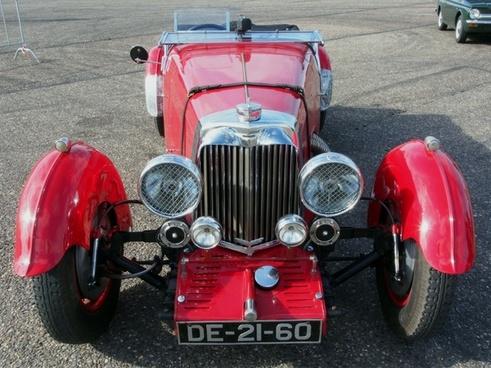 aston martin 1934 car