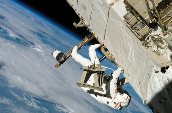 astronaut space walk wear protective clothing