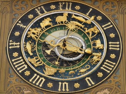 astronomical clock clock time