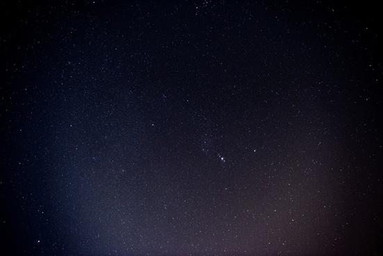 astronomy background comet constellation dark endless