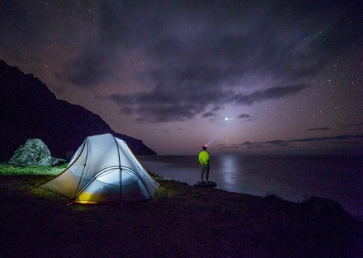 astronomy beach dark evening galaxy landscape light