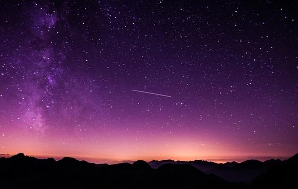 astronomy constellation evening galaxy glow jupiter