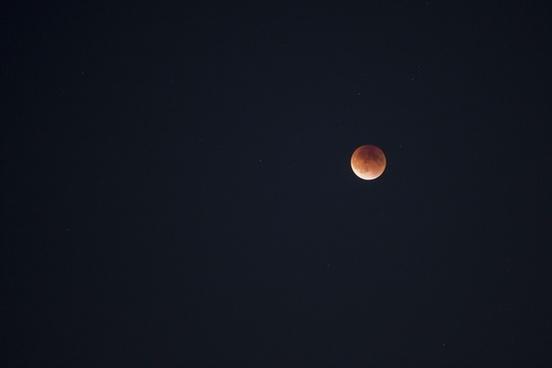 astronomy crescent dark dusk eclipse full moon light