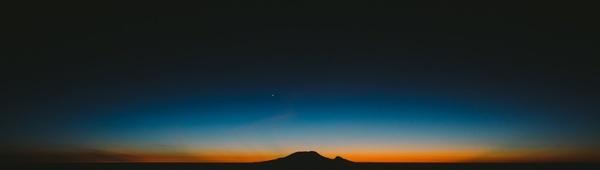 astronomy desert dusk eclipse evening horizon