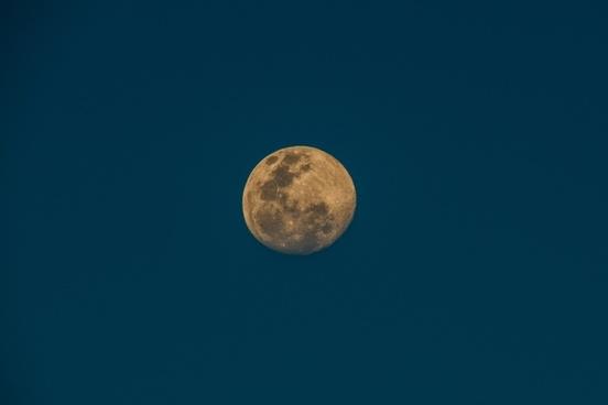 astronomy eclipse full moon landscape light luna