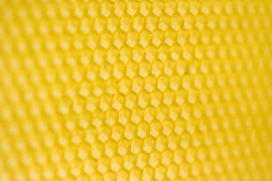 at an angle of honeycomb
