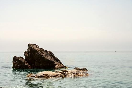 atlantic beach boat coast island landscape nature