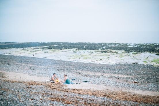 atlantic beach coast horizon landscape nature ocean