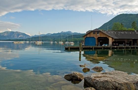 attersee austria nature