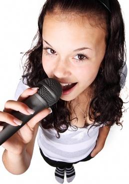 audio female girl