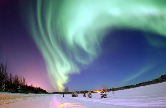 aurora borealis aurora northern lights