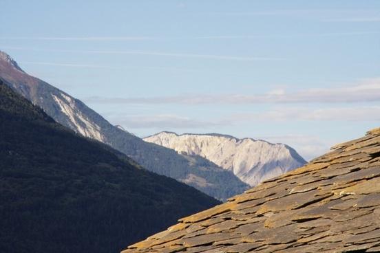 ausserberg valais alpine