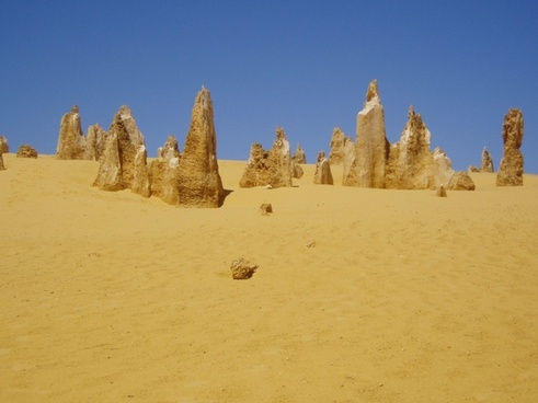 australia west coast pinnacle desert