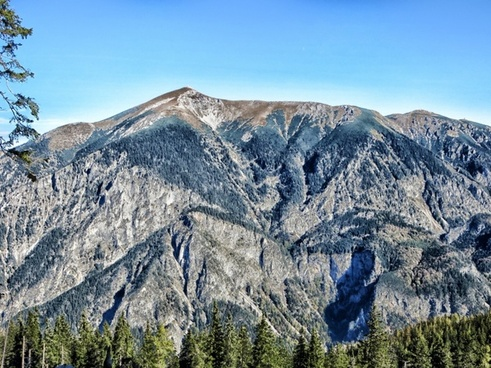 austria alps landscape