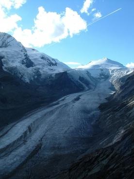 austria grossglockner glacier