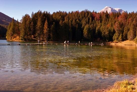 austria lake water
