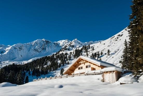 austria landscape house