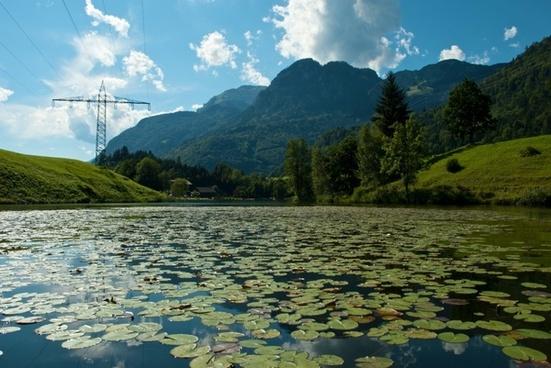 austria mountains scenic