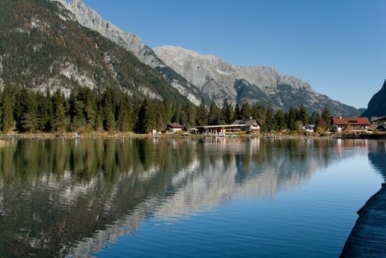 austria mountains sky