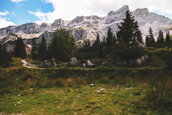 austrian alp mountains