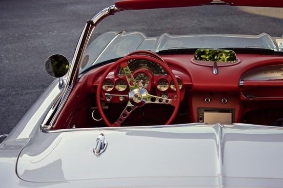 auto automobile automotive bumper car chrome classic