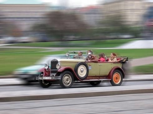 auto convertible sightseeing