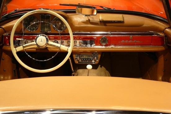 auto detail steering wheel oldtimer