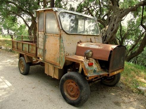 auto oldtimer truck