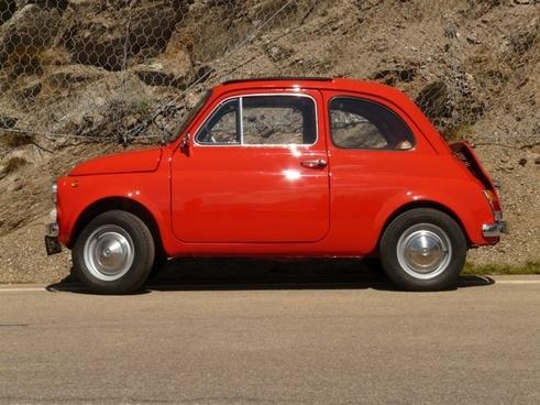 auto red vehicle