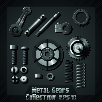 auto service design elements vector