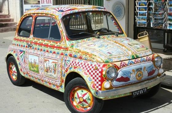 auto vehicle painted