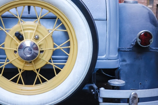 automobile car chrome circle design detail equipment