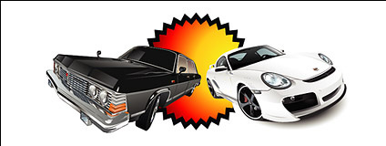Automotive vector material