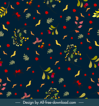 autumn background colorful leaf plant decor