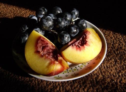 autumn grape nectarine