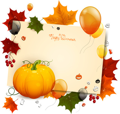 autumn harvest backgrounds vector