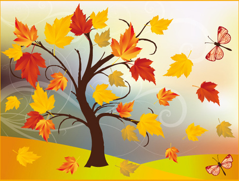 Autumn Forest Trees Free Vector Download 6 911 Free Vector For Commercial Use Format Ai Eps Cdr Svg Vector Illustration Graphic Art Design