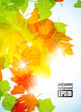 autumn theme backgrounds art vector