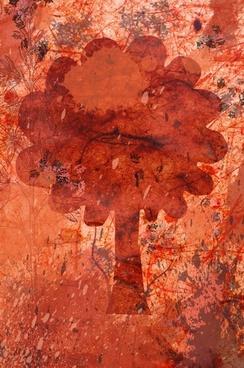 autumn tree grunge