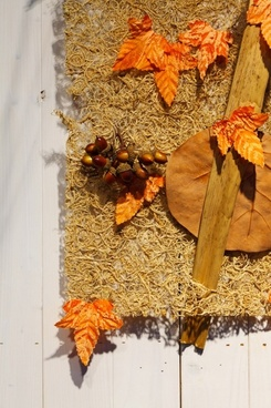 autumn wall decoration