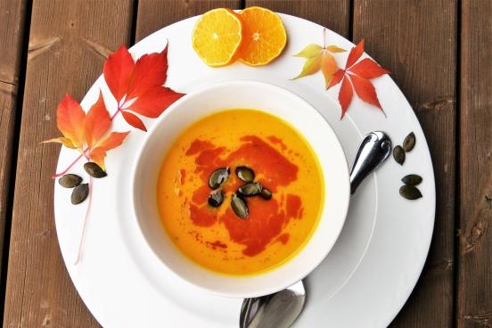autumnfall pumpkin soup