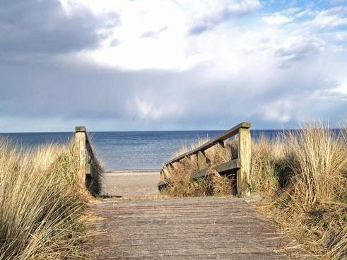 away beach access to the beach