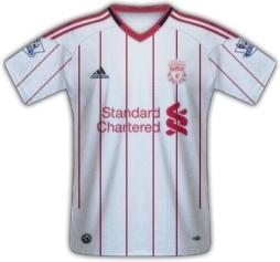 Away Shirt 2010 2011