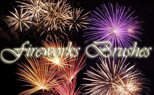 Awesome Fireworks Brushes