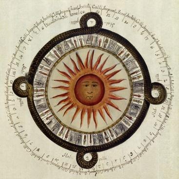 aztecs mexican calendar sundial