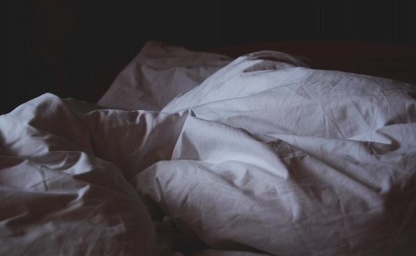 baby bed bedroom black and white blanket child dark