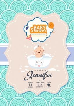 Baby shower invitations free vector download 2710 free vector for baby shower invitation banner cute kid icon decor filmwisefo