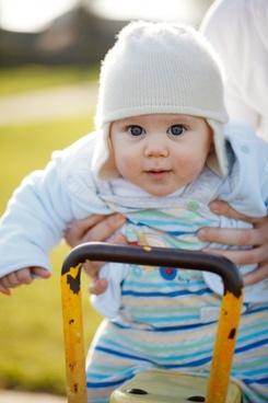 baby swing fun